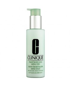 Clinique Liquid Facial Soap Mild 200 ml Yüz Temizleme Köpüğü